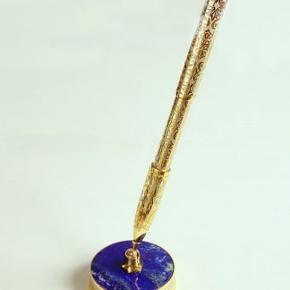Ручка на лазурите