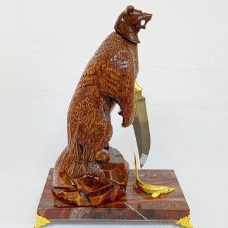 """Нож """"Медведь на охоте"""""""