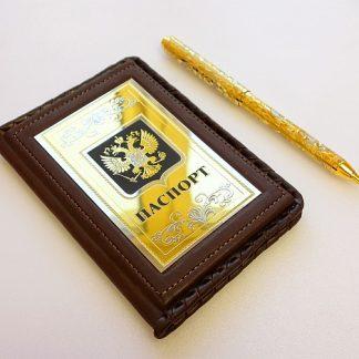"""Набор """"Паспорт, ручка украшенная"""""""