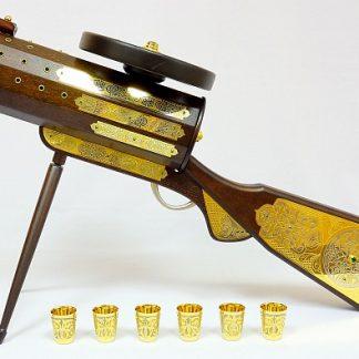 Минибар пулемет + 6 стопок