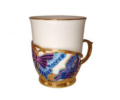 "Подарочная чашка ""Мотылёк"""