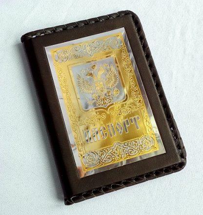 """Обложка для паспорта """"Герб на щите"""""""