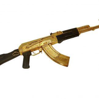Золотой автомат Калашникова ОС-АК 103