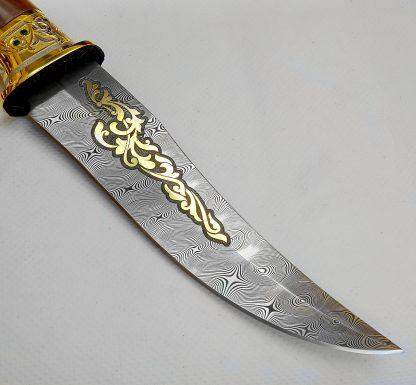 нож дамаск