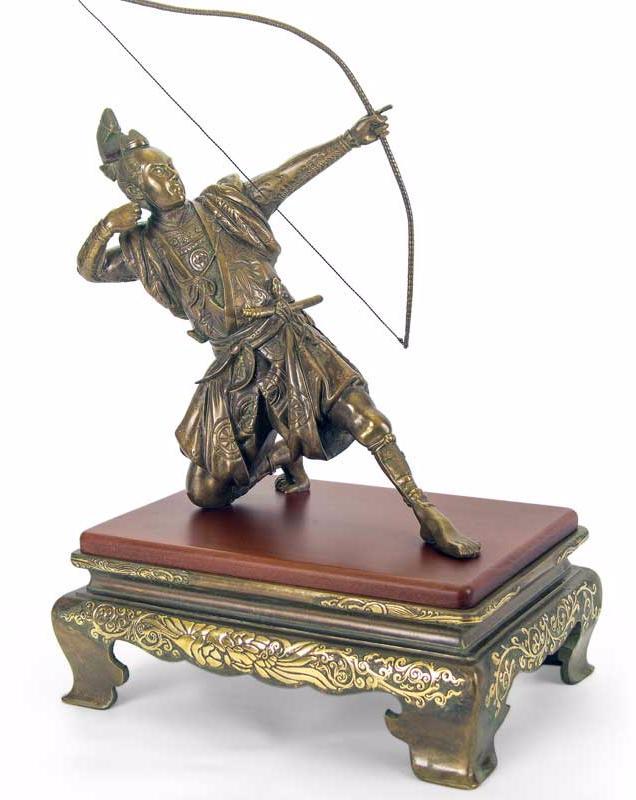 бронзовый самурай элитный