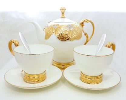 """Чайный набор """"Золотой фарфор"""""""