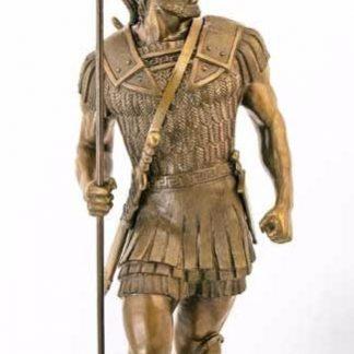 скульптура бронзовая спартанец