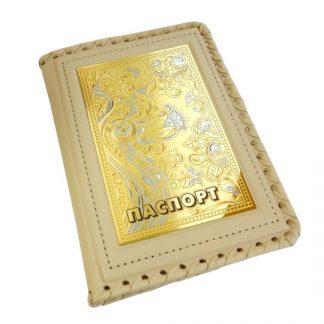 """Обложка для паспорта """"Дамская"""""""
